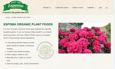 US: Redesigned Espoma website empowers gardeners