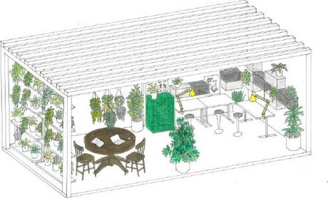 uk indoor garden design with ikea to exhibit at chelsea - Ikea Indoor Garden