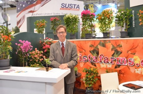 Jerome O'Neill at the IPM Essen 2018 in Germany