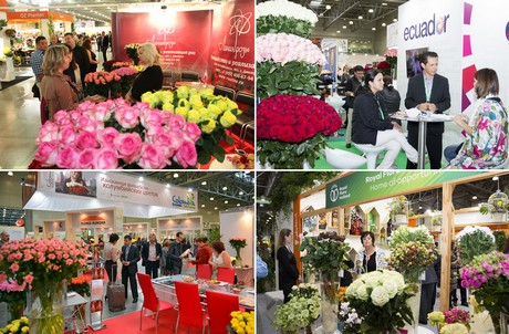 Exhibitors from 30 countries at FlowersExpo'2018